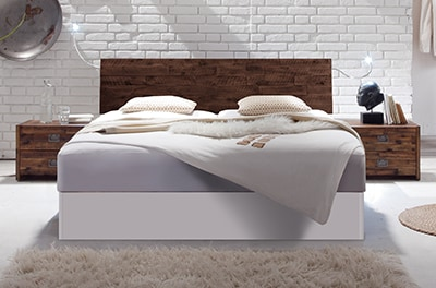 wasserbett mit factoryline kopfteil varus online kaufen aqua comfort. Black Bedroom Furniture Sets. Home Design Ideas