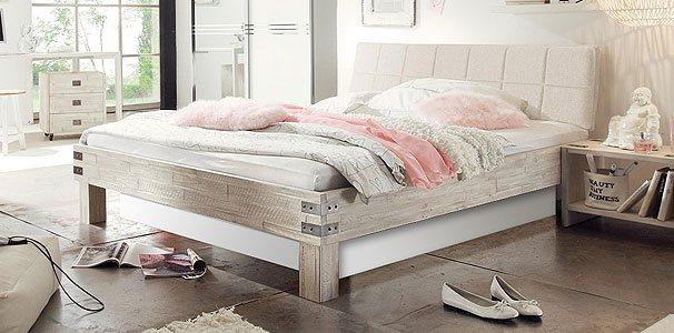 massivholz akazie bett mit wasserbett online kaufen aqua comfort. Black Bedroom Furniture Sets. Home Design Ideas