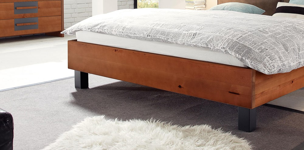 Wasserbett Woodwild mit Cena Kopfteil online kaufen - Aqua Comfort