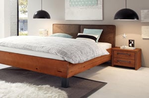 wasserbett woodwild mit cena kopfteil online kaufen aqua. Black Bedroom Furniture Sets. Home Design Ideas