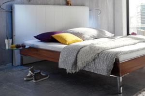 Wasserbett holz  Wasserbett mit Holz Dekor Bettrahmen online kaufen