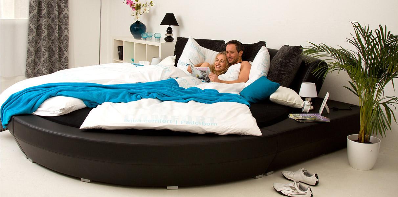 rundbett ibiza gr tes wasserbett der welt online kaufen. Black Bedroom Furniture Sets. Home Design Ideas