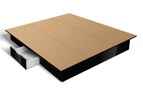 schubladensockel f r wasserbetten online kaufen aqua comfort. Black Bedroom Furniture Sets. Home Design Ideas