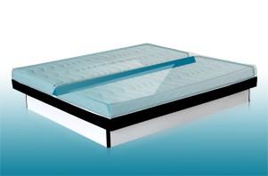 dual wasserbett mit 2 kammern online kaufen aqua comfort. Black Bedroom Furniture Sets. Home Design Ideas