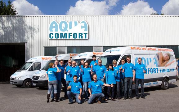 Aqua Comfort Wasserbetten GmbH Werksverkauf Team