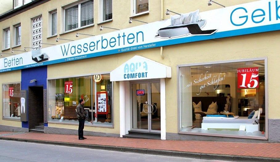 Aqua Comfort Wasserbetten Paderborn