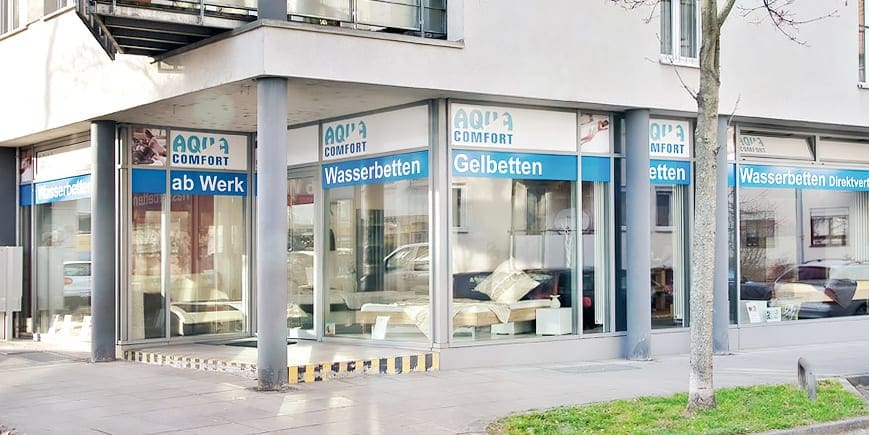 wasserbetten stuttgart aqua comfort filiale in zuffenhausen. Black Bedroom Furniture Sets. Home Design Ideas