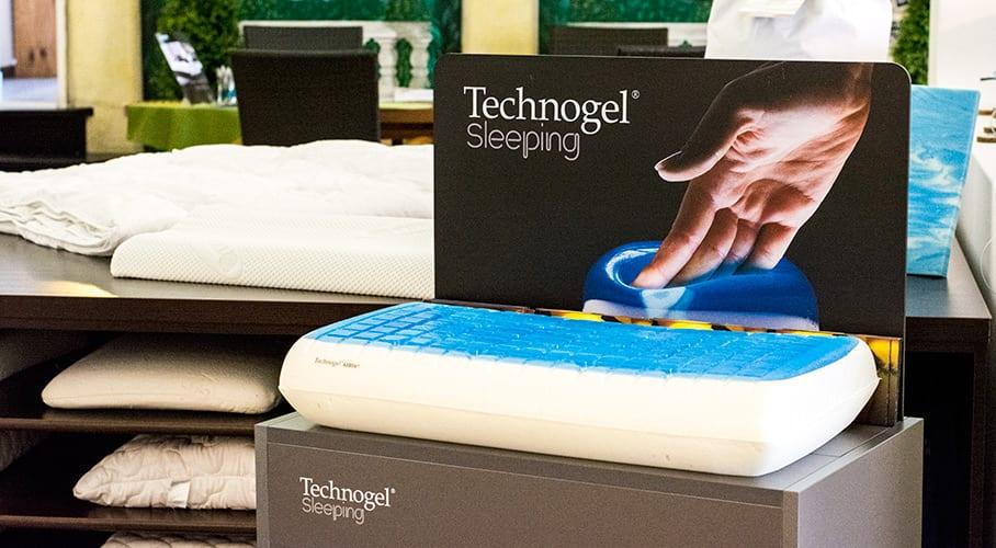 Technogel Sleeping 2015: Neue Technogel Kissen im Shop