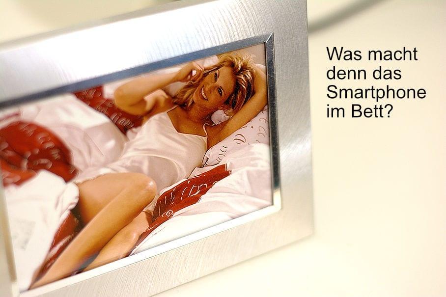 was macht das smartphone im Bett