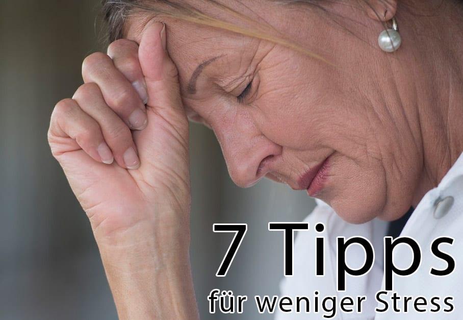7 tipps besser schlafen durch weniger stress aqua comfort. Black Bedroom Furniture Sets. Home Design Ideas