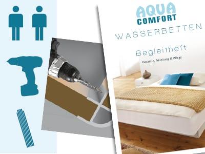 wasserbett faq h ufige fragen zum wasserbett aqua comfort. Black Bedroom Furniture Sets. Home Design Ideas