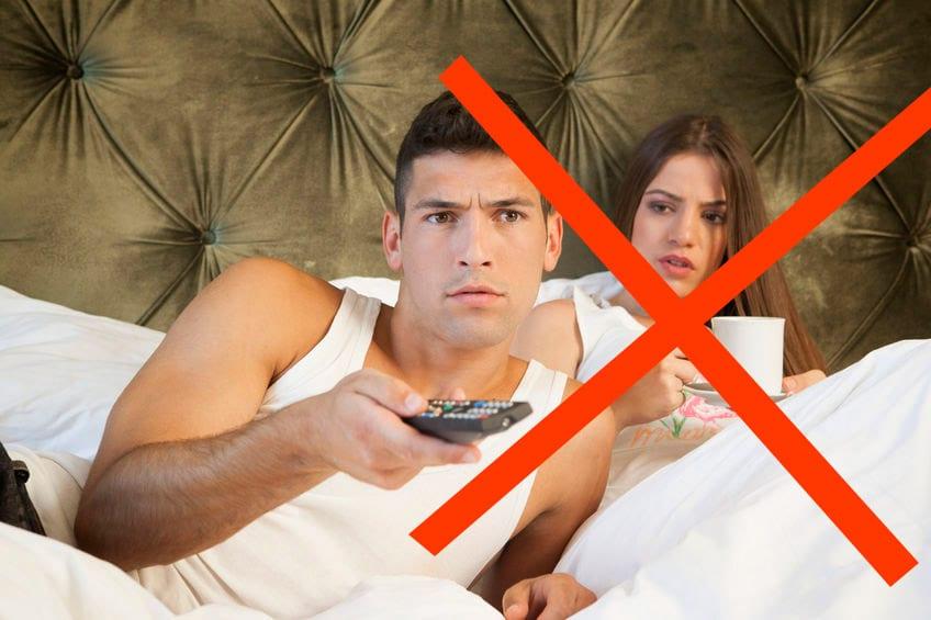 Schlafzimmer Einrichten: Tipps & Tricks Um Besser Zu Schlafen Schlafzimmer Mit Fernseher Einrichten