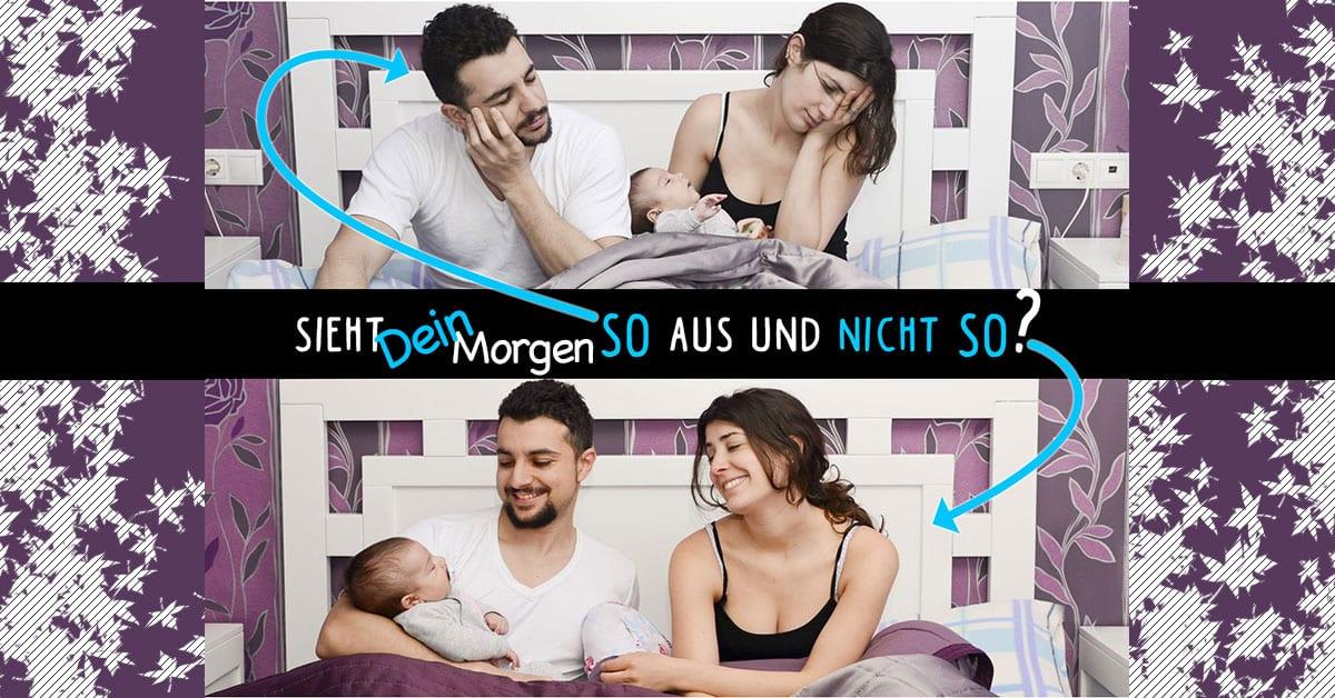 5 tipps f r entspannten schlaf mit deinem baby f r baby und eltern. Black Bedroom Furniture Sets. Home Design Ideas