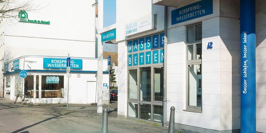 Aqua Comfort Wasserbetten Bielefeld Showroom
