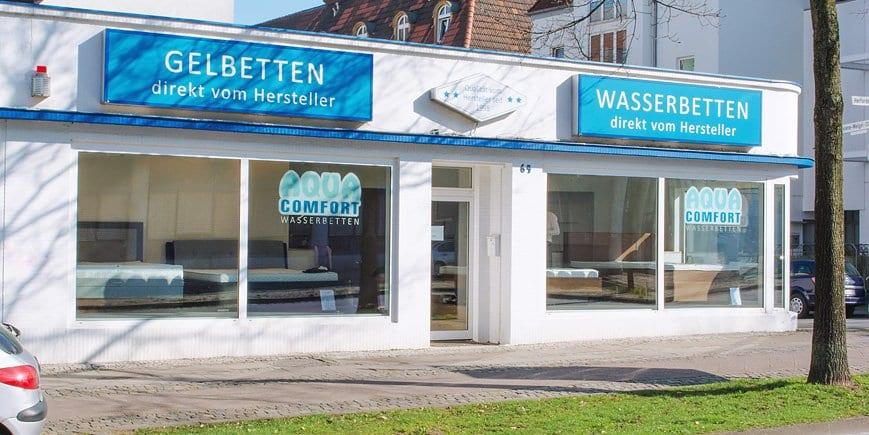 Aqua Comfort Bielefeld Filiale Und Wasserbetten Ausstellung