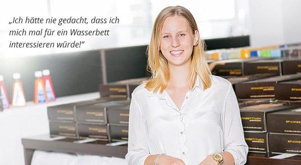 Carolin Langer, Auszubildende in Paderborn