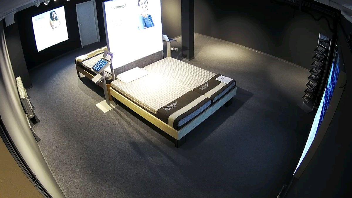 Technogel Ausstellung in München für Matratzen und Kissen